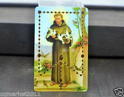 Catholic Church Portrait Jesus Christian Blessed Simple Prayer Card Decoration C