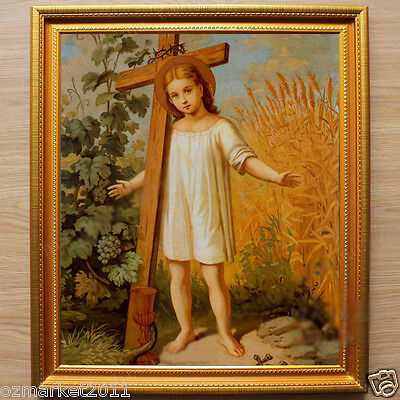 Catholic Church Portrait Jesus Christian Blessed Beautiful Art Home Decoration V