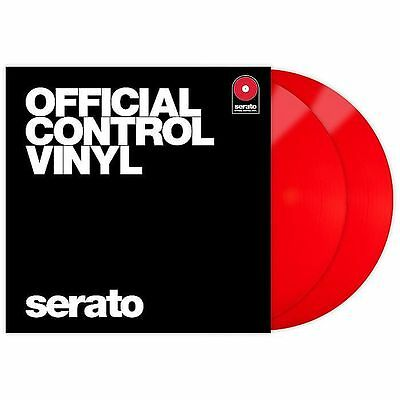 Serato Performance Series 12 Inch Control Vinyl (red, pair)