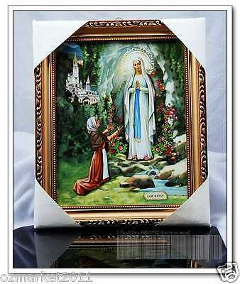 Catholic Church Portrait Jesus Christian Blessed Simple Frame Home Decoration