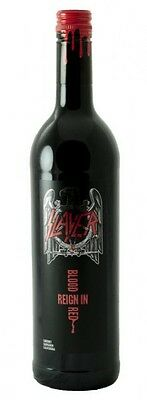 SLAYER - Reign In Blood Red - Red Wine 75cl