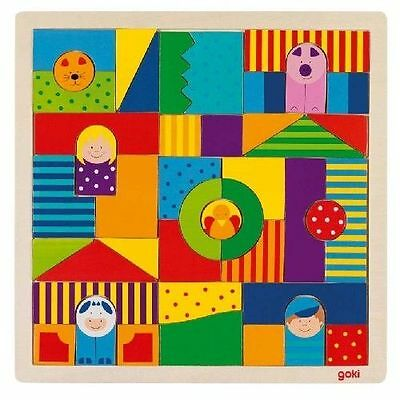 Puzzle Farm Children's & Toddler's Wooden Puzzle Toy from Goki  3+