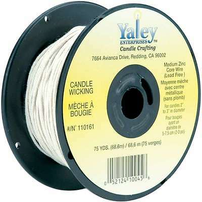 Candle Wicking Spool 75yd-Medium Wire 052124100456