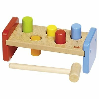 Shape Sorter Colourful Hammer Bench Toddler's Activity Toy from Goki