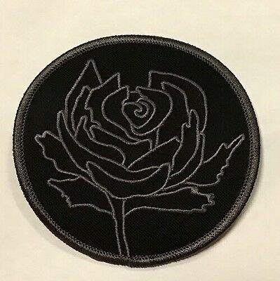 Ryan Adams Cardinals DRA rose Embroidered Patch - Fan Tribute Gray - Iron On