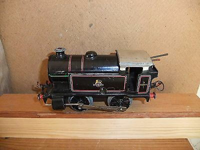 Hornby CW O Gauge Type 40 Tank Loco BR Black 82011, not boxed