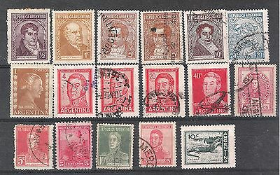 Fine collection of early Argentina