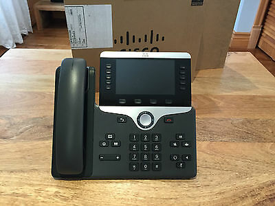 Cisco IP Phone 8851 PoE VoIP Color LCD Display CP-8851-K9 *MINT, OPEN BOX*