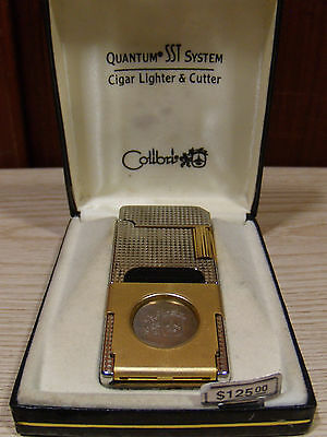 Colibri Quantum SST System Cigar Lighter & Cutter $125 Retail - Parts or Repair