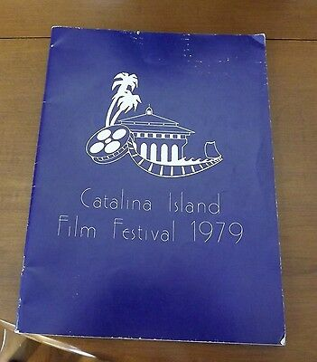 Catalina Island Film Festival 1979 Program - Good Condition Throughout