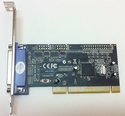 Parallel (Lpt - Db25)  I/o Pci Add-On Card ** New **