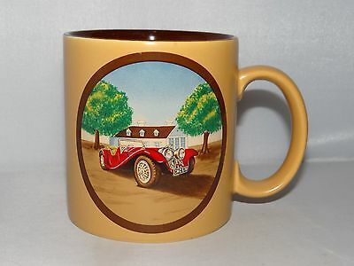 VINTAGE ANTIQUE CAR AUTO 12oz. Coffee Mug Tea Cup By Russ Berrie Item No 8354
