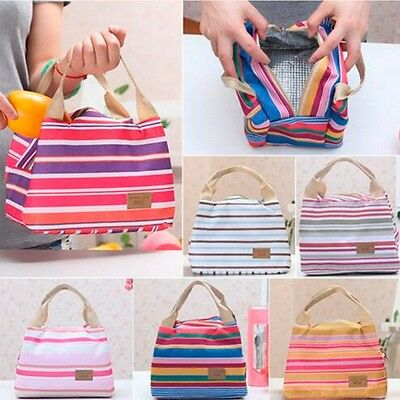 Tote Cooler Carry Purse Insulated Storage Thermal Handbag Lunch Bag Portable