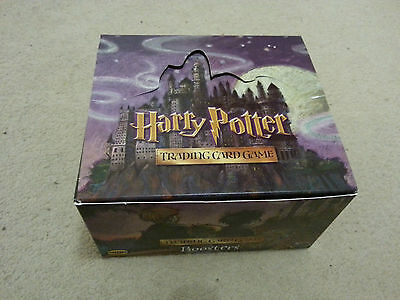 Box of approx. 300 Harry Potter trading cards (2001)