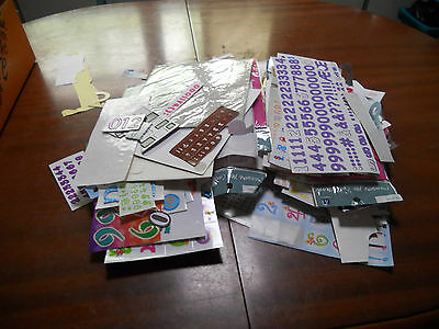 stickers numbers