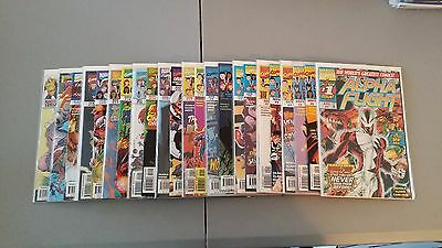 Marvel Comics Lot Of 23 Alpha Flight With Variant And Annuals Combined Shipping