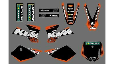 2002 2003 2004 2005 2006 2007 2008 KTM 50SX 50 SX KTM50SX Graphics Decals