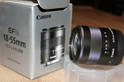 Objectif Canon EF M 18-55mm f/3.5-5.6 IS STM