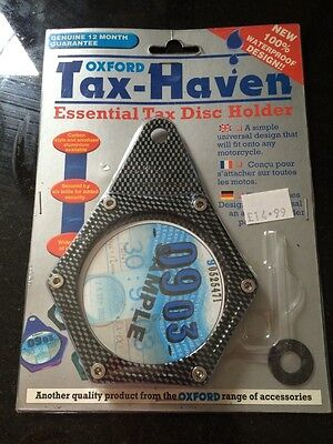 Oxford tax-haven Tax Disc Holder