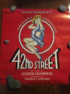 42nd Street Poster ~ Original Broadway Cast  Promo Poster