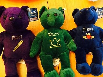 Buffy The Vampire Collector Bears