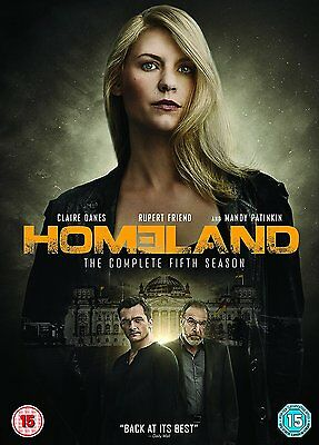 Homeland The Complete Fifth Season Series 5 New & Sealed DVD Box Set