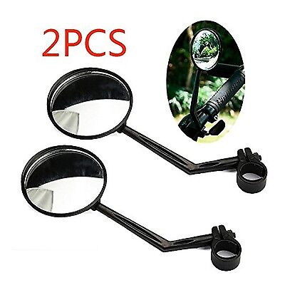 Bike Mirror 360-Degree Cycling Rear View Mirror Rotatable Bicycle Motorcycle ...