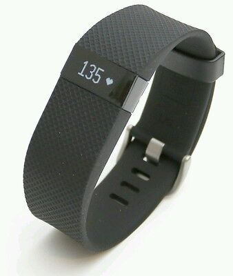 Fitbit Charge HR Heart Rate and Activity Wristband - Black, Small