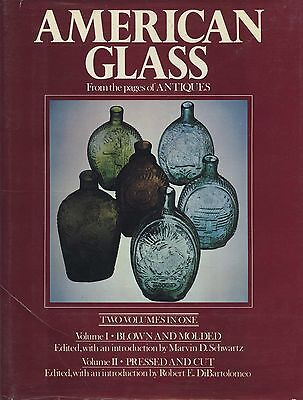 Antique American Blown Pressed Cut Glass - History Makers Types / In-Depth Book