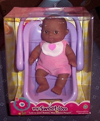 """JC Toys Berenguer 5"""" Lots to Love Babies with Carrier"""