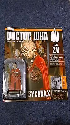 Eaglemoss doctor who figurine collection - Issue 20: SYCORAX LEADER