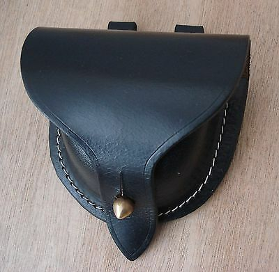 American Civil War Leather US Cap Pouch, New