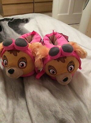 paw patrol slippers new size 13-1.5