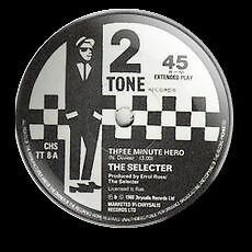 The Selecter Three Minute Label 25 Mm Button Badge 2 Tone