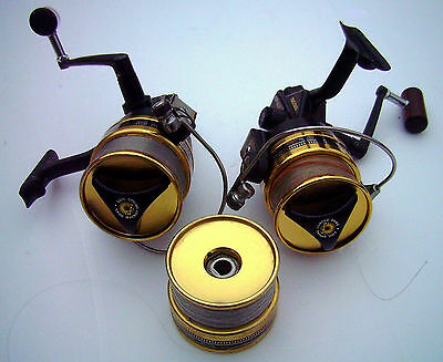 2 Moulinet Daiwa Bg 30  3Bb  Black Gold + 1 Bobine