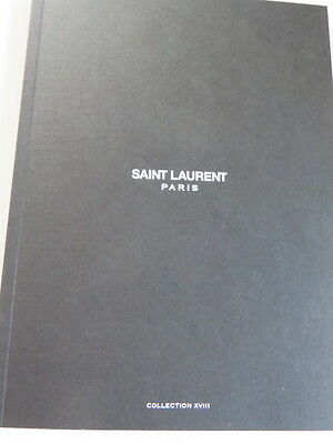 Saint Laurent Fashion Lookbook Hedi Slimane Rare Collectable Cruise 2016