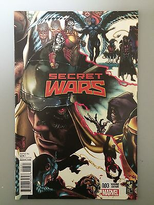Secret Wars #3 Simone Bianchi Connecting Cover Variant Marvel NM