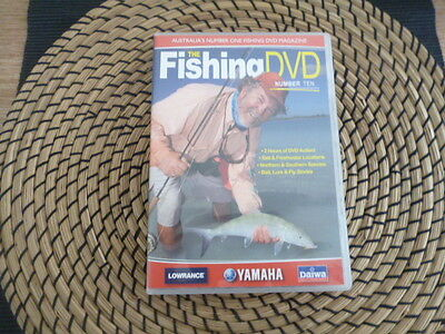 the fishing dvd number 10 2 hrs of fishing action bait lure and fly stories