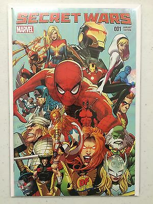 Secret Wars #1 Greg Land Dynamic Forces Exclusive Variant With COA NM Marvel
