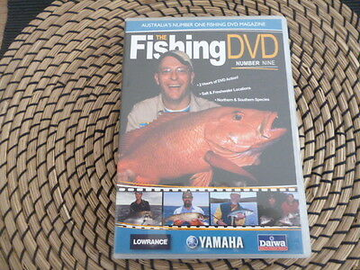 the fishing dvd number NINE 2 hrs of fishing action salt and freshwater Location