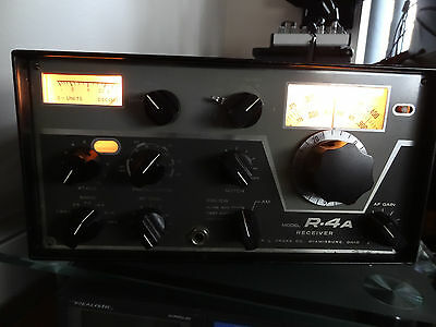 RL Drake R-4A Receiver, Manual+MS-4 Speaker NICE SHAPE