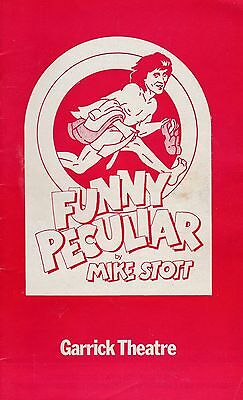 Richard Beckinsale  & Eamon Boland  In Funny Peculiar  At The Garrick Theatre