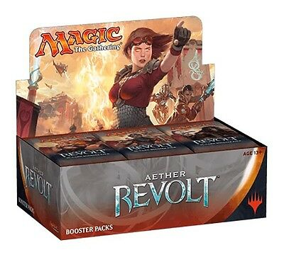 Wizards of the Coast Magic Aether Revolt Booster Display (EN)