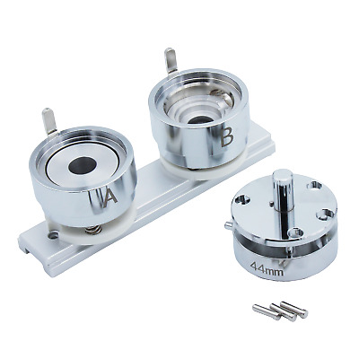 """44/58/75mm (1 3/4""""or 2 1/4""""or 3"""") Round Die Mould for Artec Badge Button Maker-1"""