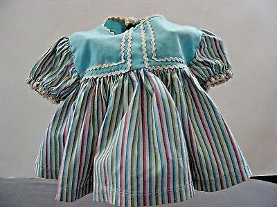"""Vintage Thumbellina? Stripped Dress 8""""  Other Dolls"""