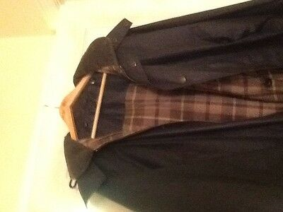 John Partridge Country Clothing Hand Made Size L  Hooded Jacket