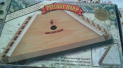 MELODY HARP   with box & Music