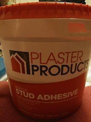 3 X tubs of Stud adhesive, Plaster Products 5.2kg unopened. X3!!!