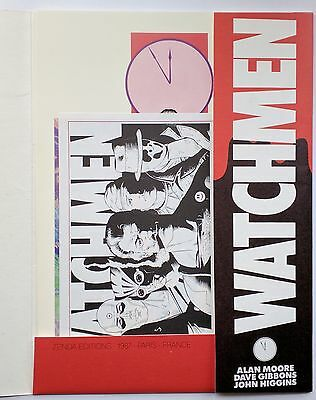 * 3 x Signed Watchmen Zenda Portfolio 9.6 NM+ Limited Alan Moore Dave Gibbons *