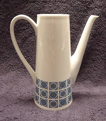 Royal Tuscan China Charade Pattern Coffee Pot no lid